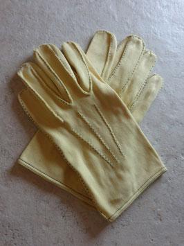 Gants jaunes