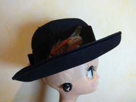 Chapeau bleu 70's