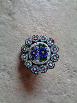 Broche fleur micro céramique