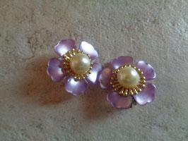 Clips fleurs 80's