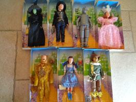 Lot de poupées le Magicien d'Oz