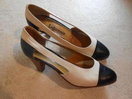 Sandales bi-colores 60's P.35