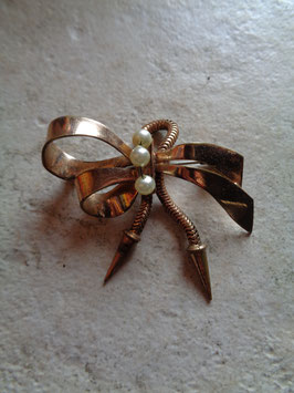 Broche noeud 50's