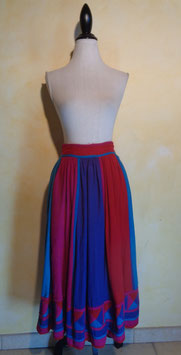 Jupe color block 70's T.36