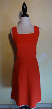 Robe rouge 60's T.36