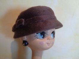 Chapeau duveteux 60's
