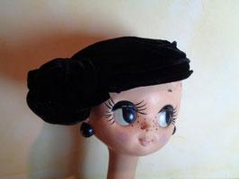 Bibi velours noir