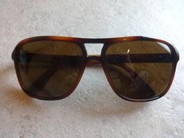 Lunettes marrons 80's