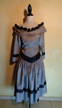 Robe grise 50's T.36