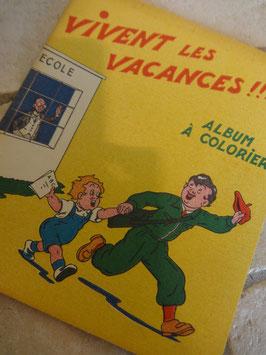 Album à colorier 50's