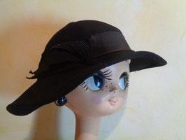Chapeau laine 40's