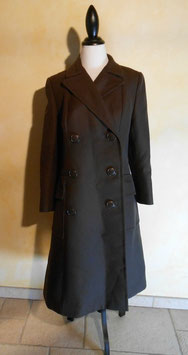 Manteau marron 70's T.38