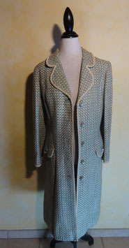 Manteau lainage 60's T.38
