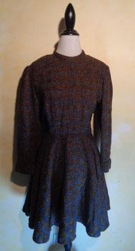 Robe laine chinée 60's T.38