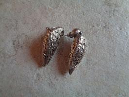 Boucles d'oreille perruches