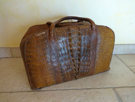 Sac crocodile 1900
