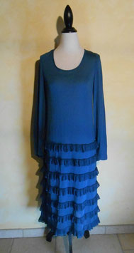 Robe maille 70's T.38