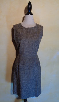 Robe gris chiné 60's T.40