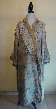 Manteau soie 1900 T.U