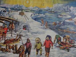 """Affiche pédagogique MDI """"dans les pays froids/dans les pays méditérannéens"""""""