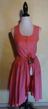 Ensemble rose 50's T.36