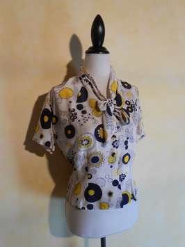 Blouse pop 60's T.38