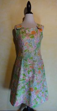 Robe fleurs 60's T.36