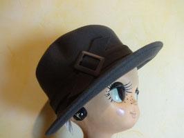 Chapeau gris 70's