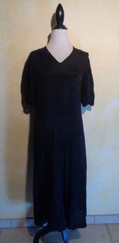 Robe noire 40's T.40