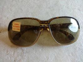 Lunettes de soleil marron 70's