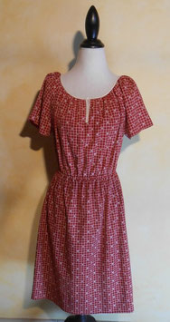 Robe carreaux 60's T.38
