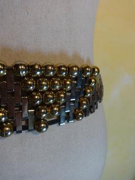 Ceinture fils de cuir et perles