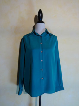 Chemise turquoise 70's T.38