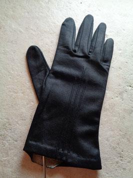 Gants tissu noirs
