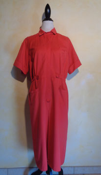 Robe rouge 80's T.42