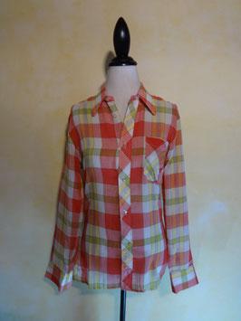 Chemise à carreaux 70's T.36