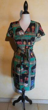 Robe tea time 70's T.38