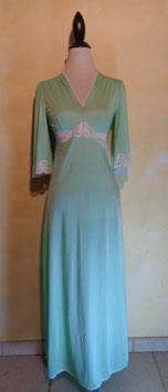 Chemise de nuit verte 60's T.36