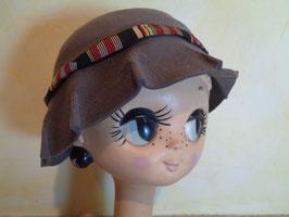 Chapeau gris 60's