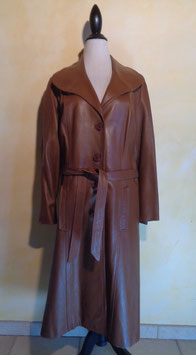 Trench cuir 70's T.42