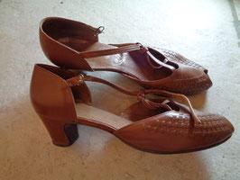 Sandales cuir 60's P.40