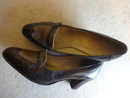 Chaussures Bally cuir 70's