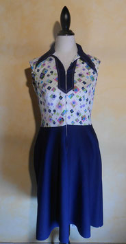Robe losanges 60's T.40