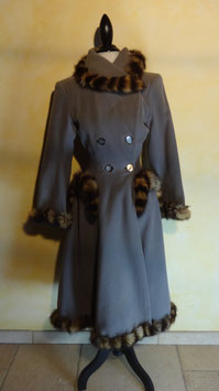 Manteau pin up 50's T.34
