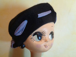 Chapeau ruban 60's