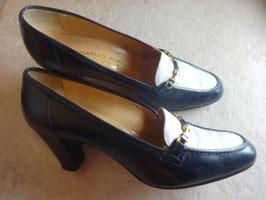 Chaussures bi-colores Jourdan P.38