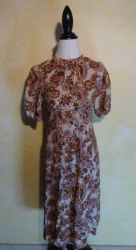 Robe coton fleuri 60's T.36