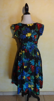 Robe fruits 50's T.36