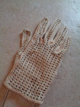Gants crochet 60's