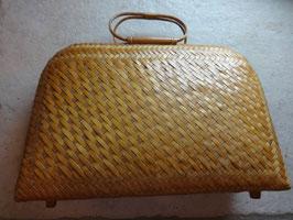 Pochette-valise paille